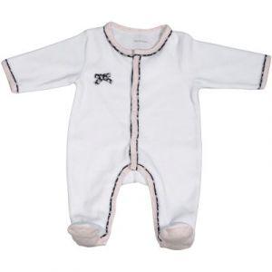 Sauthon Miss Chipie pyjama en velours - Blanc - Naissance