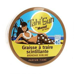 Tahi'Sun Graisse à traire scintillante - Bronzage sublime parfum tiaré