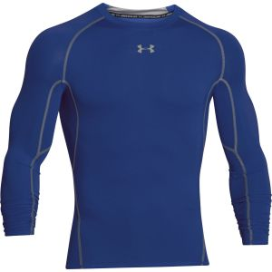 Under Armour Under Armour Hg T-Shirt manches longues de compression Homme Royal/Steel FR : XL (Taille Fabricant : XL)