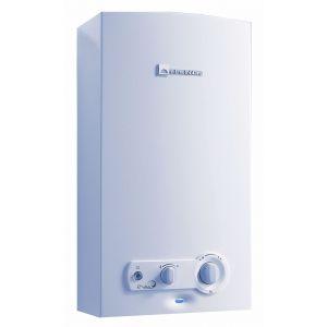 ELM Leblanc Chauffe-bains gaz ONDEA Hydropower sans veilleuse - LC 17 PVHY - 7 à 30,5 kW - débit 17 l/min - Butane Propane -
