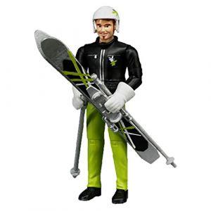 Bruder Toys 60040 - Skieur avec accessoires