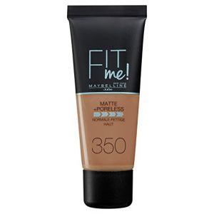 Maybelline Fit Me Foundation Matte + Poreless - 350: Caramel - 30 ml
