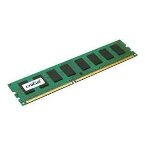 Crucial CT51264BA160B - Barrette mémoire 4 Go DDR3 1600 MHz 240 pins
