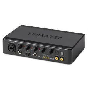 TerraTec Electronic DMX 6 Fire USB (10546) - Interface audio professionnel externe USB 2.0 (4 entrées analogiques,6 sorties analogiques)