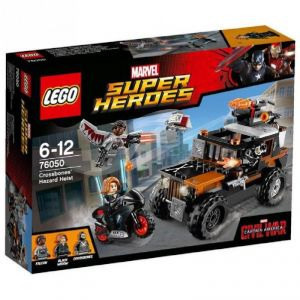 Lego 76050 - Super Heroes Marvel : l'attaque toxique de Crossbones