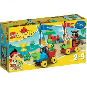 Duplo 10539 - La course du Capitaine Crochet Jake et les pirates