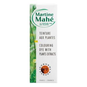 Martine Mahé n°7 Auburn - Teinture aux plantes