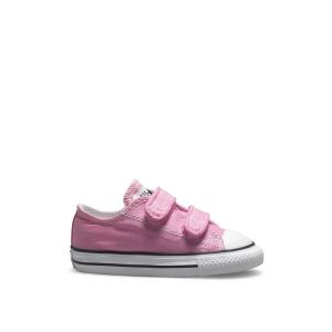 Converse Baskets basses One Star 2V Suede Rose - Taille 20;21;22;23;24;25;26