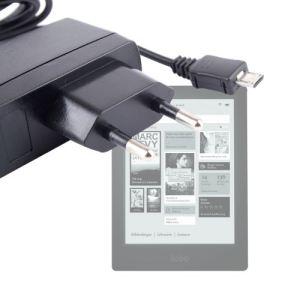 Duragadget Chargeur secteur à charge rapide pour Kobo Aura HD