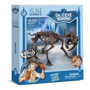 Geoworld Ice Age Excavation Kit - Tigre Dents de sabre (CL1677K)