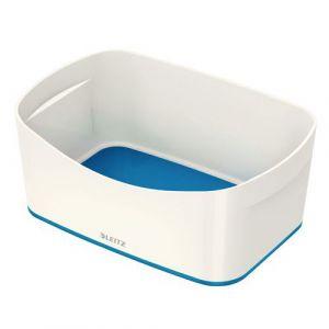 Leitz MyBox - Bac de rangement - Blanc et Bleu