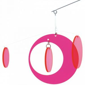 Djeco Mobile Fluo Pink fly