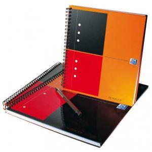 Oxford 100102680 - Cahier Notebook rel. intégrale A5+ 160p./80 feuilles 80g/m², ligné 6mm