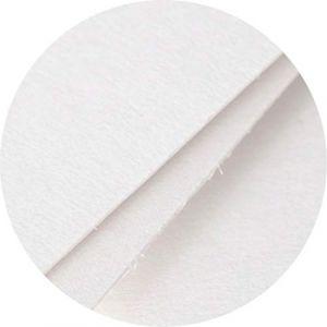 Clairefontaine 5436C Enveloppe Pollen 11,4 x 16,2 cm 120g paquet de 20 Blanc