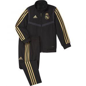 Adidas Survêtement de présentation Real Madrid CF 20192020 Noir / Doré - Taille 5-6 Ans