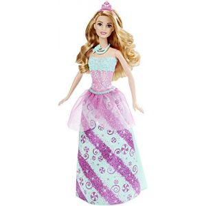 Mattel Barbie Princesse multicolore Bonbons