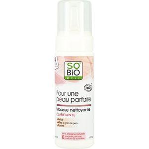 So'Bio Étic Pour une peau parfaite - Mousse nettoyante clarifiante