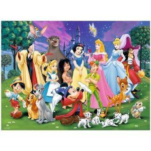Ravensburger Mes personnages Disney - Puzzle 200 pièces XXL