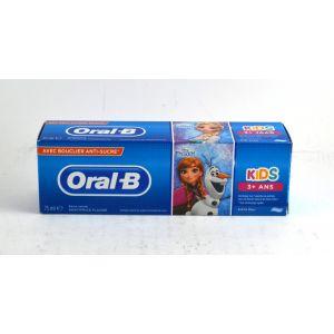 Oral-B Dentifrice pour Enfants Reine des Neiges - Kids 3/6 Ans, 75 ml