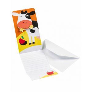 Amscan 8 invitations + enveloppes - Ferme joyeuse