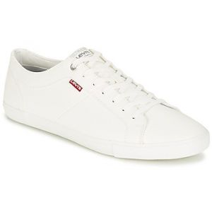 Levi's Baskets basses WOODS blanc - Taille 40,41,42,43,44,45