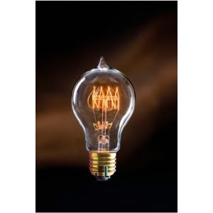 Jurassic-light Ampoule vintage CHARLY