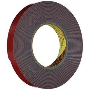 3M VHB 4991F1955 Ruban Adhésif 19 mm x 5,5 m, 2,3 mm Gris