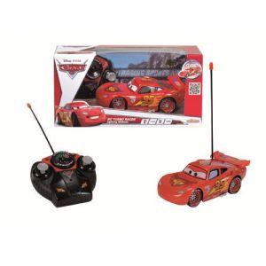 Majorette Voiture radiocommandée Cars 2 Flash McQueen Turbo (1/24)