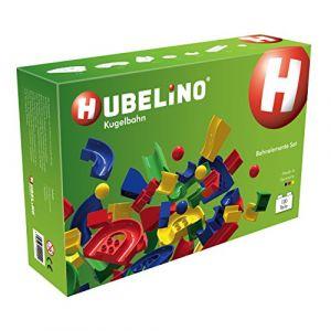 Hubelino Circuit à billes 120 pièces Blocs de construction Set Jeu de motricité