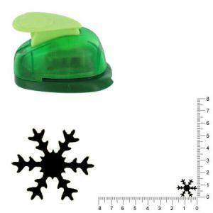 Artémio VIHCP159 Petite perforatrice à Levier 1,6 cm Flocon de Neige #2 Plastique, Multicolore, 8,5 x 5 x 12 cm