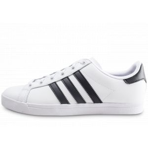 Adidas Coast Star J, Sneakers Basses Mixte Enfant, Multicolore Core Black/FTWR White Ee9698, 37 1/3 EU