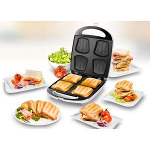 Unold 48480 - Sandwich Toaster Quadro
