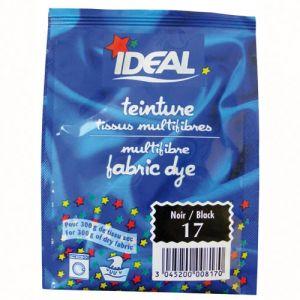 Ideal Teinture pour tissu multifibres - 15 g - noir