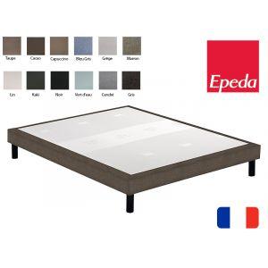 Epeda Sommier déco confort médium 90x200