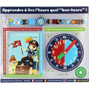 """Baby Watch Coffret montre pour enfants """"Bon-Heure"""" Matelot"""