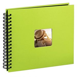 Hama Fine Art Spiral kiwi 36x32 50 schwarze Seiten 10610