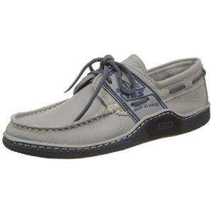 Tbs Globek, Chaussures Bateau Hommes, Beige (Gravier + Encre B8E41), 40 EU