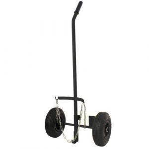 Proweltek Chariot pour bouteille de gaz 6/13 kg avec roue gonflées diamètre 260 mm