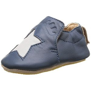Easy Peasy Blublu Etoile, Chaussures Premiers pas bébé garçon, Bleu (526 Denim/Inwi), 18/19 EU