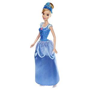 Mattel Disney Princesse paillettes : Cendrillon (modèle aléatoire)