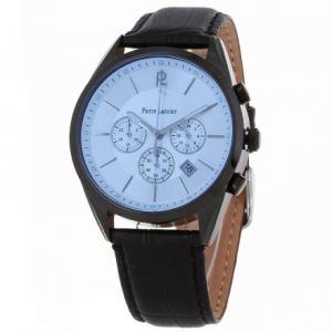Pierre Lannier 276B4 - Montre pour homme bracelet en cuir Chronographe