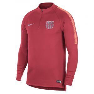 Nike Haut de football à manches longues FC Barcelona Dri-FIT Squad Drill pour Homme - Rose - Taille S