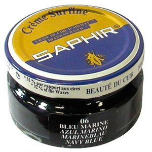 Saphir Crème surfine - bleu - 50 mL - Cirage, Entretien, Imperméabilisant