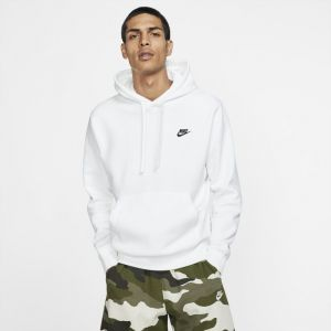 Nike Sweat à capuche Sportswear Club Fleece - Blanc - Taille S - Male