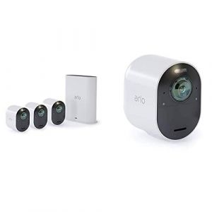 Arlo Ultra Pack 4 Smart Caméra