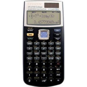 Image de Citizen Systems SR-270X College - Calculatrice scientifique