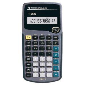 Texas instruments TI-30XA - Calculatrice scientifique