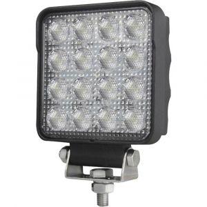 Hella Valuefit S2500 LED 1GA 357 106-022 Projecteur de travail 12 V, 24 V éclairage large pour terrain (l x h x p) 108 x 137 x 48 mm 2500 lm 6000 K