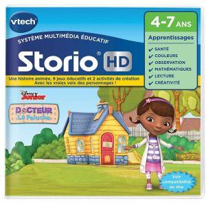 Vtech 272105 - Jeu Storio HD Docteur la peluche