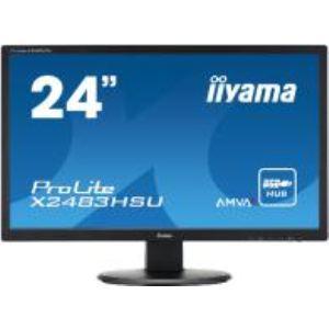 "iiyama ProLite X2483HSU-B1 - Ecran LED 24"""